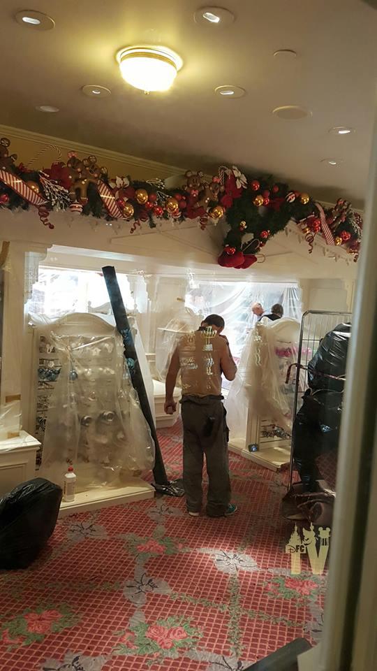 Disneyland® Hotel - lavori di restauro 001c22