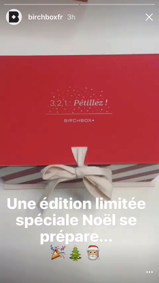 Birchbox Edition Limitée Noël 2016 Img_2422