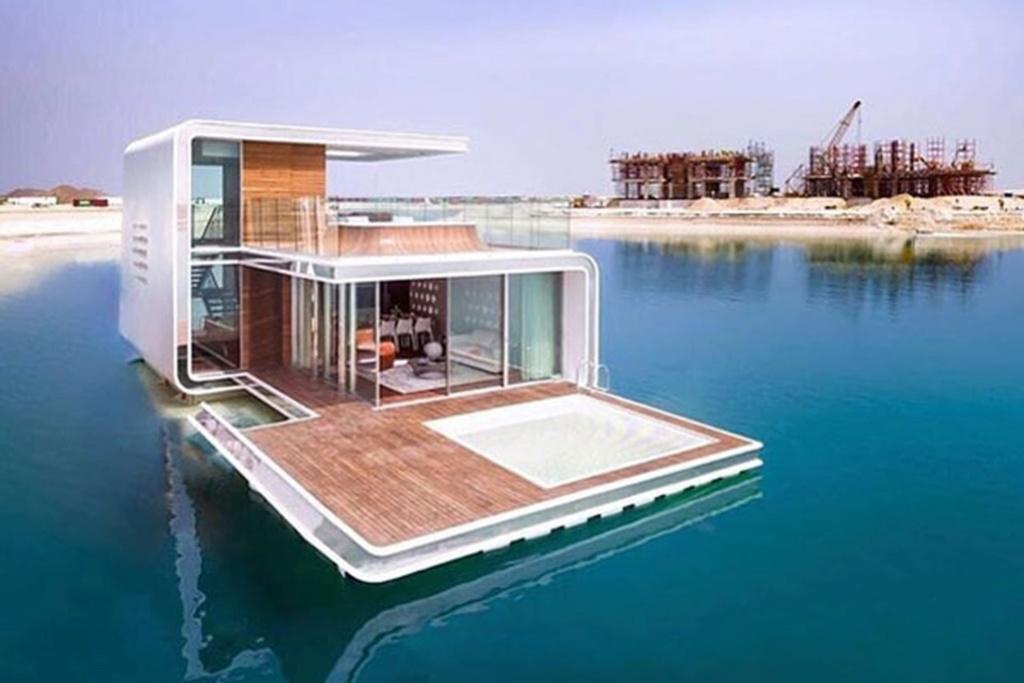 فيلات فاخرة عائمة بأعماق البحر فى دبى . الان يمكنك النوم مع السمك (بالصور) 11743715