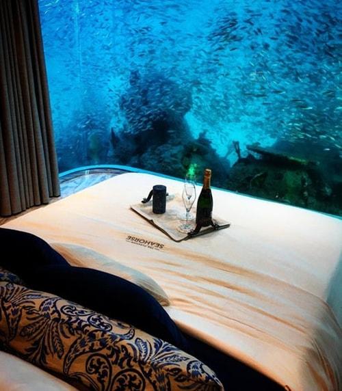 فيلات فاخرة عائمة بأعماق البحر فى دبى . الان يمكنك النوم مع السمك (بالصور) 11743716