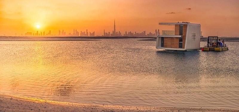 فيلات فاخرة عائمة بأعماق البحر فى دبى . الان يمكنك النوم مع السمك (بالصور) 11743717