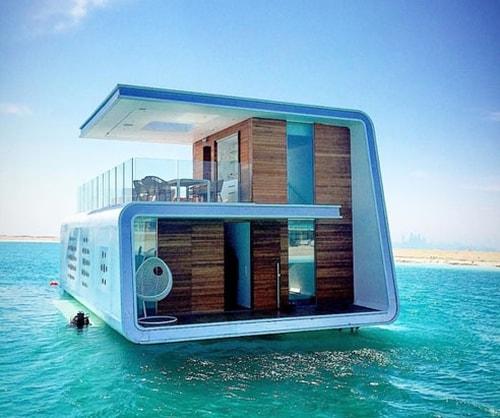 فيلات فاخرة عائمة بأعماق البحر فى دبى . الان يمكنك النوم مع السمك (بالصور) 11743811
