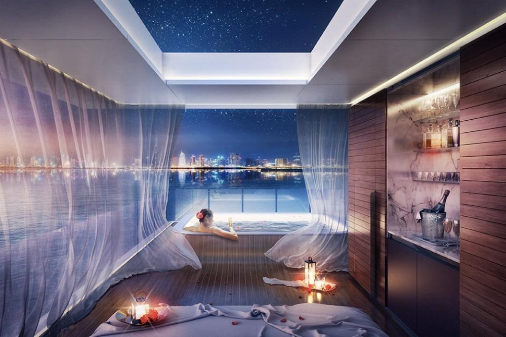 فيلات فاخرة عائمة بأعماق البحر فى دبى . الان يمكنك النوم مع السمك (بالصور) 27595510