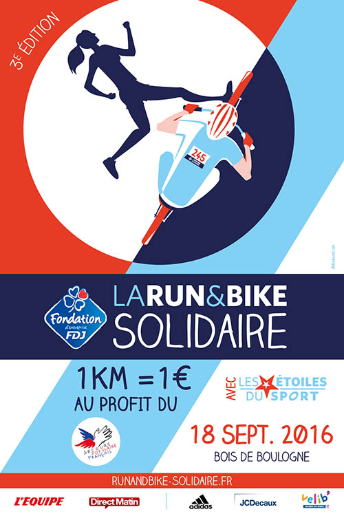 Run & Bike Solidaire  40x60w10