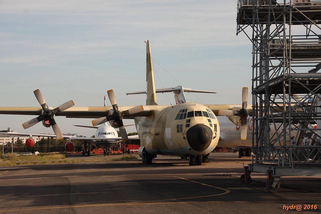 GV (Check-D) des C-130 Lockhe18