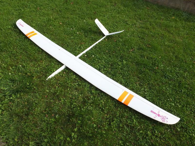 A VENDRE Planeur ELLIPSE 4 + fuselage électrique Ellips13