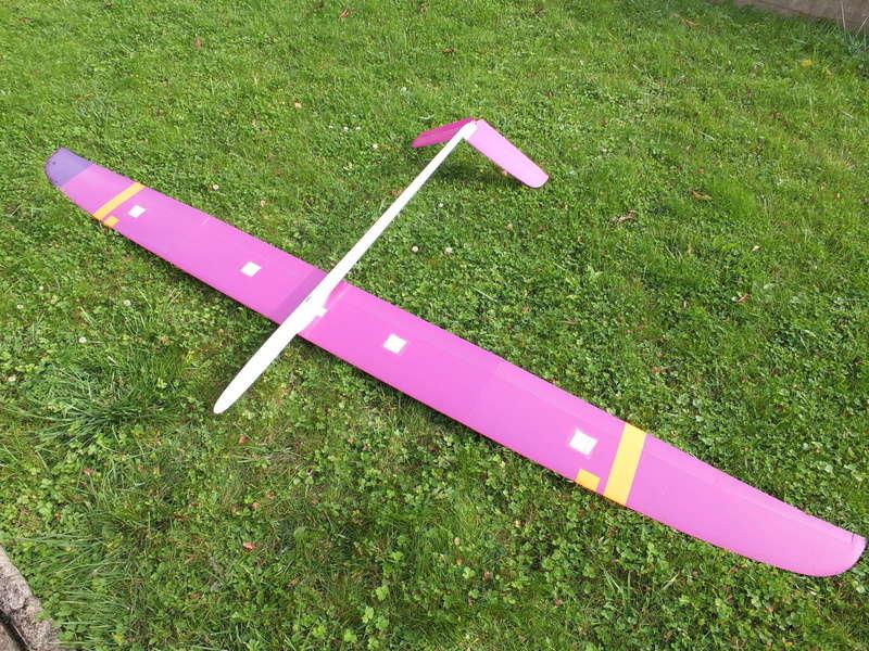 A VENDRE Planeur ELLIPSE 4 + fuselage électrique Ellips14