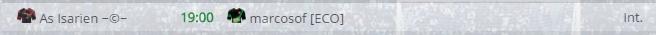 Points infos matchs IE et IS saison81 Eco20012