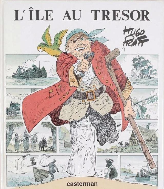 L'ILE AU TRÉSOR, de R.L.STEVENSON Ile10