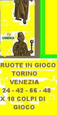 TORINO VENEZIA X 10 COLPI DI GIOCO Magia-10