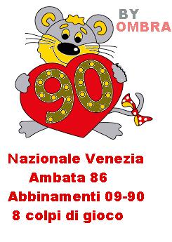 nazionale venezia 8 colpi di gioco Metodo10