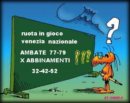 venezia nazionale dal 27-04 al 15-05 Numeri10