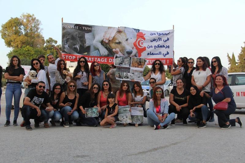 MASSACRES à CIEL OUVERT en Tunisie - Page 3 Manif_28