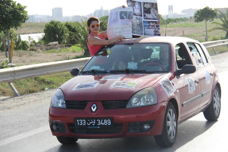 MASSACRES à CIEL OUVERT en Tunisie - Page 3 Manif_33
