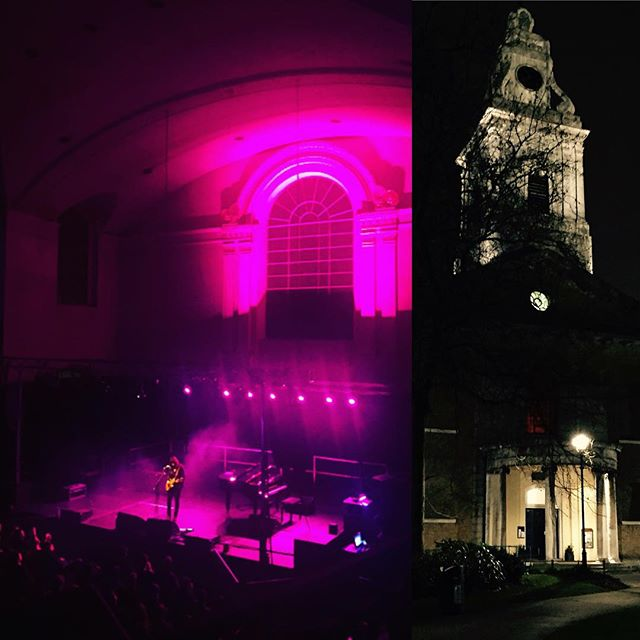 10/28/15 - London, England, St. John's at Hackney Church 2017