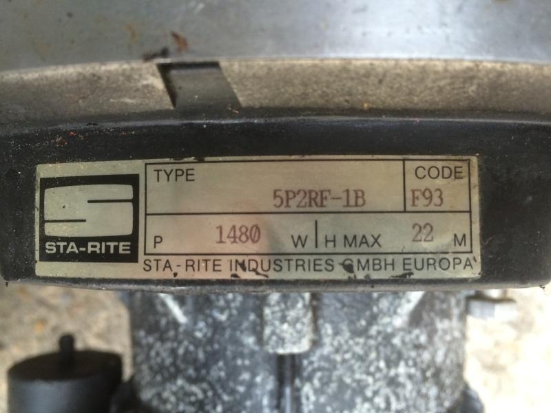 Escawat - Perte debit après nettoyage cartouches 5p2rf-10
