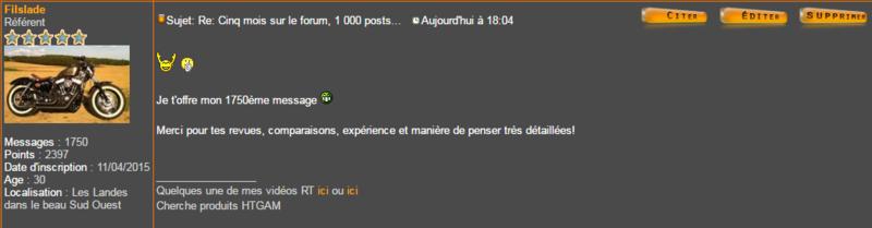 Cinq mois sur le forum, 1 000 posts... - Page 2 Captur10