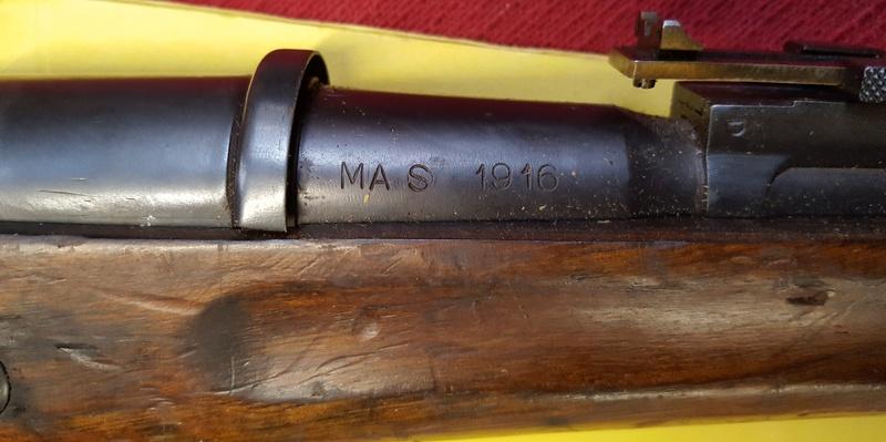 Berthier Mle 1916 directement sorti d'un arsenal de l'armée 310
