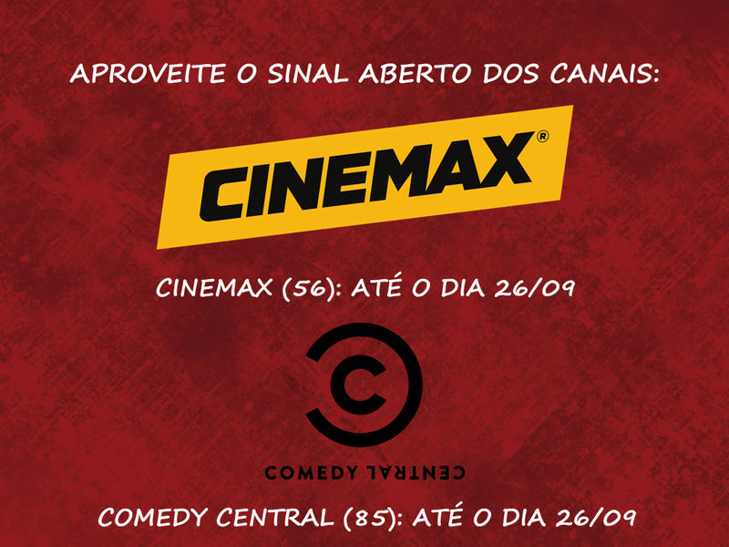 Aproveite o sinal aberto dos canais Comedy Central e Cinemax 15027_10