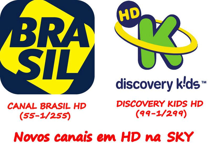 Vem aí dois novos canais em HD na SKY! Brasil11
