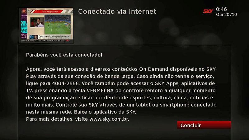 atualização - Nova atualização para o SKY HD Plus: 8716 Oobzwc10