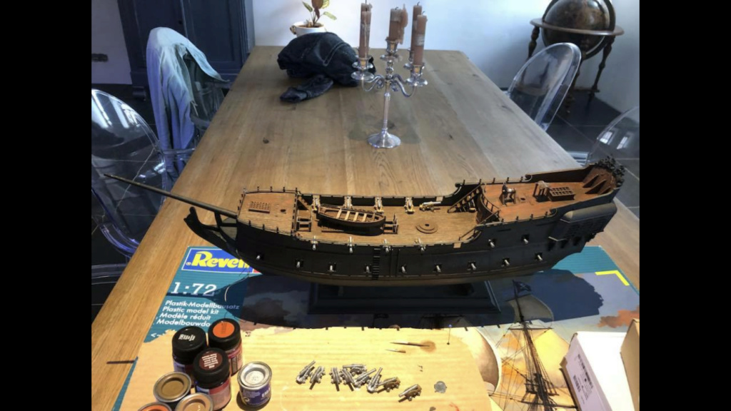 [Revell] Pirate Ship 1:72 (Customisé) 16d68710