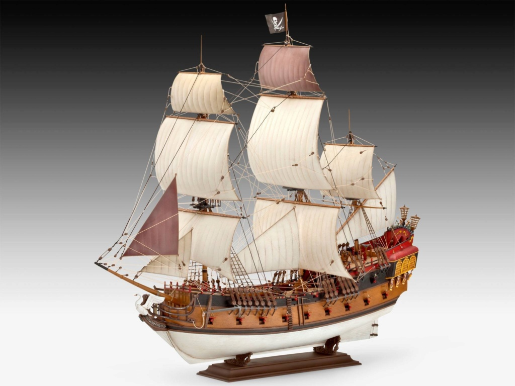 [Revell] Pirate Ship 1:72 (Customisé) 69d23910