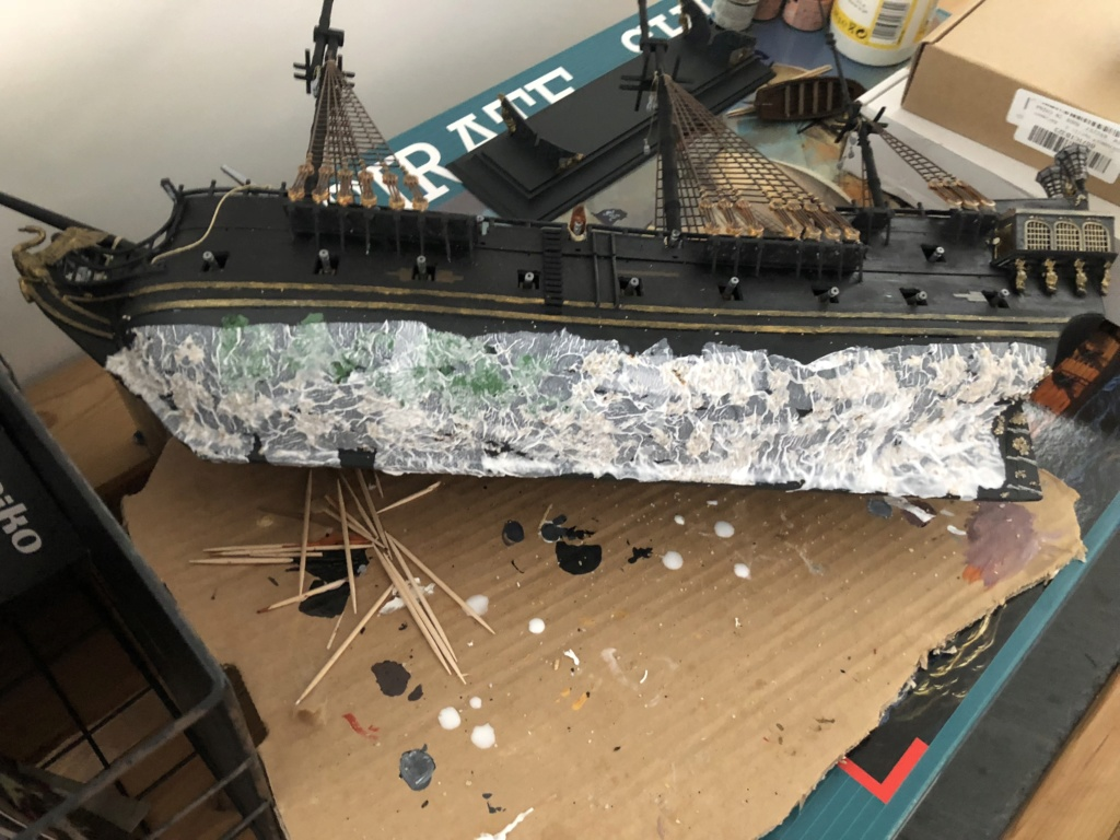 [Revell] Pirate Ship 1:72 (Customisé) Aa01c210