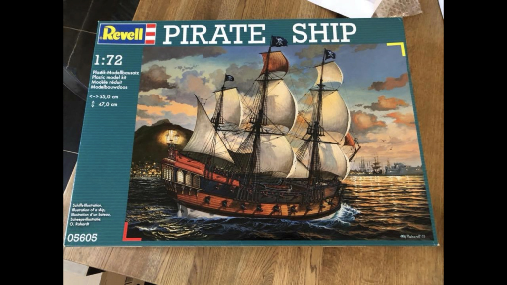 [Revell] Pirate Ship 1:72 (Customisé) E8ea8a10