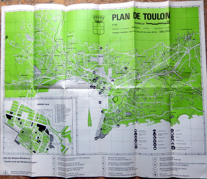 [Les ports militaires de métropole] TOULON au début des années 60 - Page 23 Corbea10