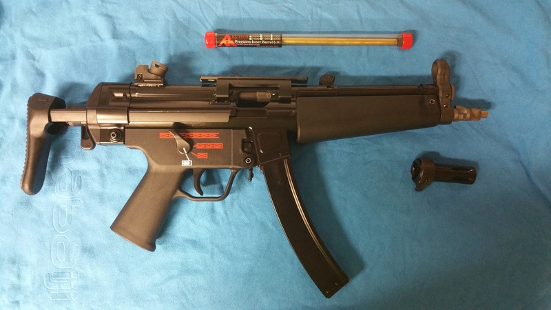 Vente MP5 APACHE WE A3 GBBR 20160910