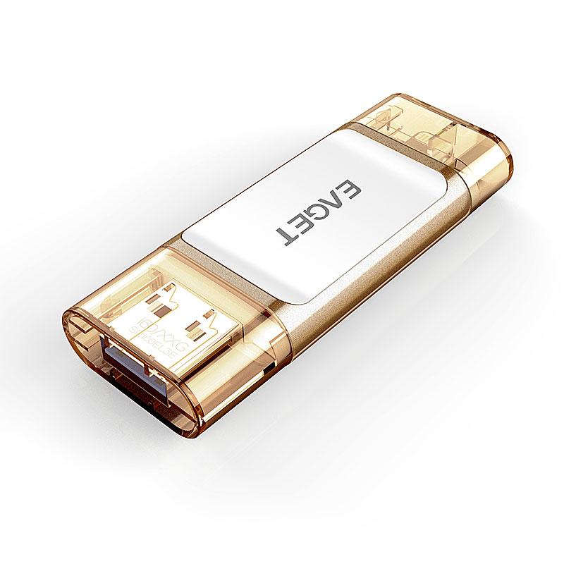 Clefs USB 2 en 1 Eaget 0410