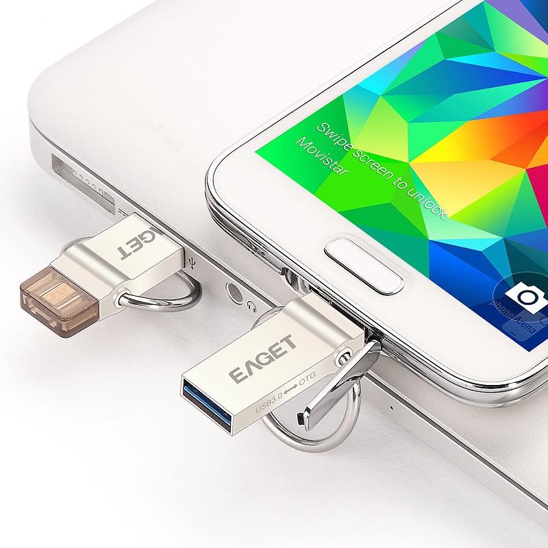 Clefs USB 2 en 1 Eaget 611