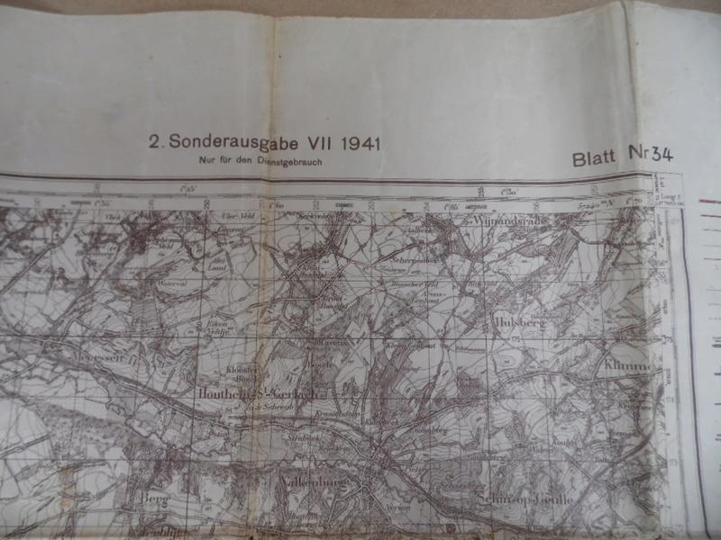 Estimation d'une carte Allemande en occurence région de Tongresn datée 1941 Heupta10