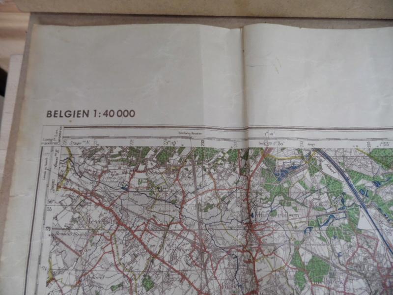 Estimation d'une carte Allemande en occurence région de Tongresn datée 1941 Heupta16