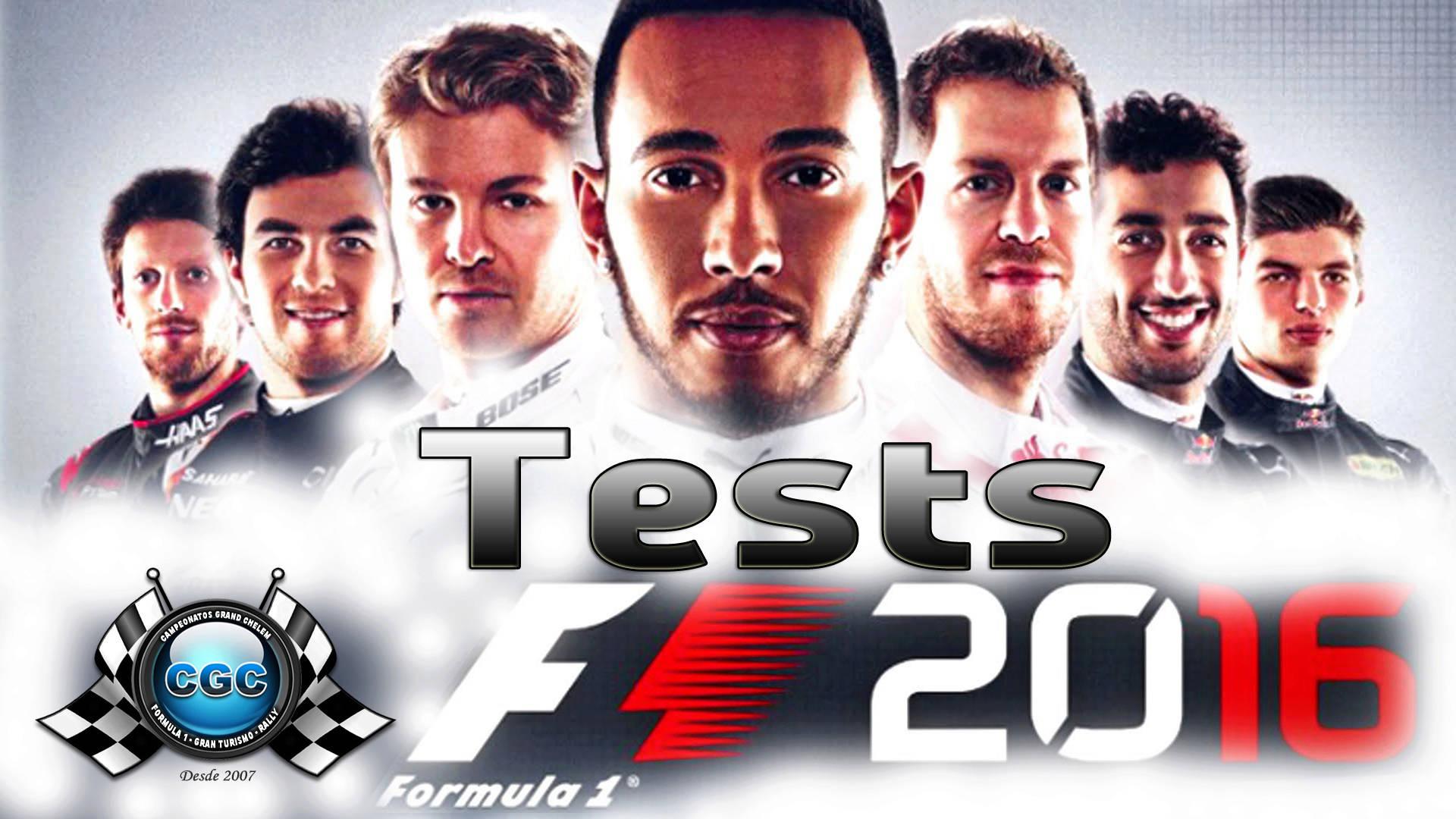 Apúntate a los test con el juego F1 2016 PS4 Test11