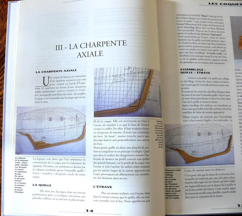 Construction des coques sur membrure - Jean-Claude CHAZARAIN Photo112