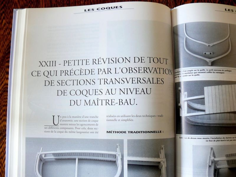 Construction des coques sur membrure - Jean-Claude CHAZARAIN Photo515