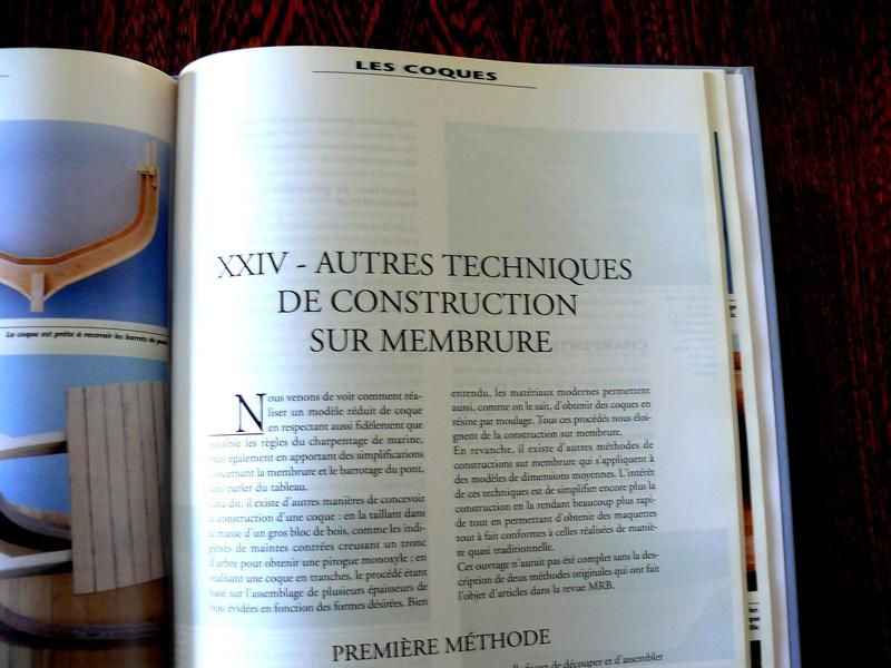 Construction des coques sur membrure - Jean-Claude CHAZARAIN Photo516
