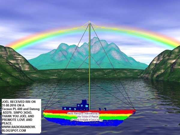 QSL Pirate Radio Rainbow Qsl_ra10