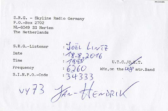 QSL de Skyline Radio Qsl_sk10