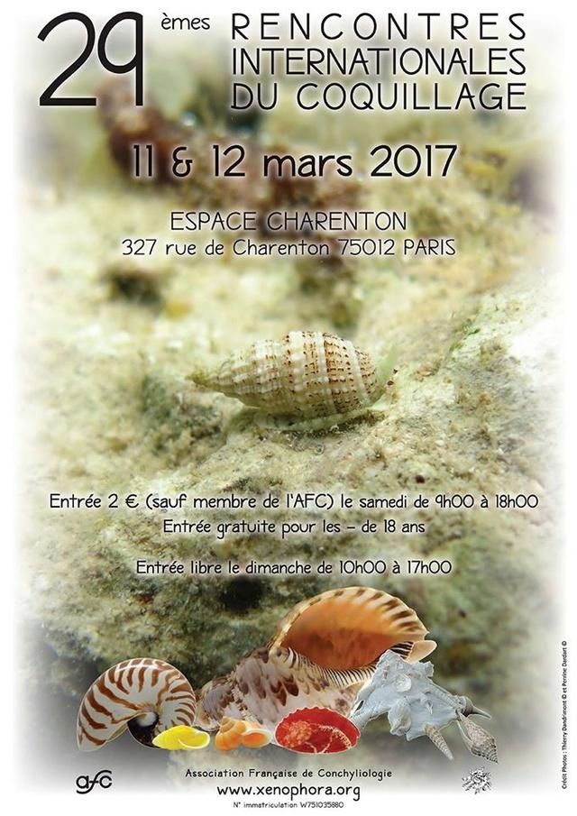 Paris 29 èmes Rencontres internationales du coquillage 11 & 12 mars 2017 14711110