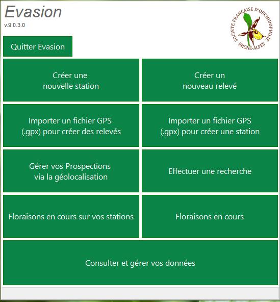 Version V9 d'Evasion, une version majeure ! 2016-020