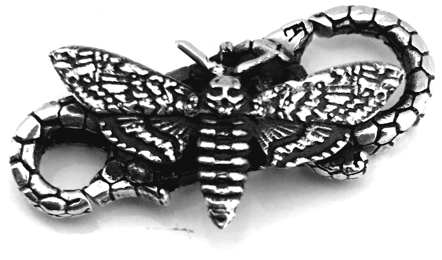 Coming soon - Faerybeads Death's Head Hawkmoth Lock Image110