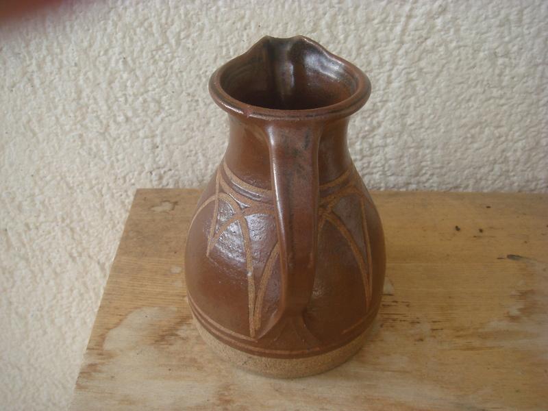 Stoneware jug - Bembridge?  not Dersingham Pottery  Copied26