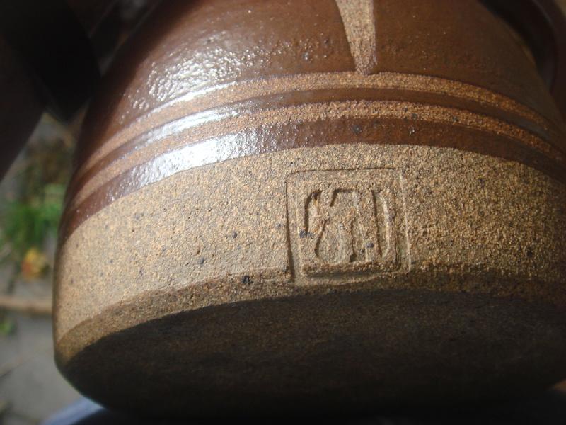 Stoneware jug - Bembridge?  not Dersingham Pottery  Copied29
