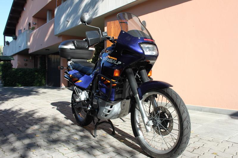 Lavaggio e lucidatura Honda Transalp 600v 1996 Img_3063