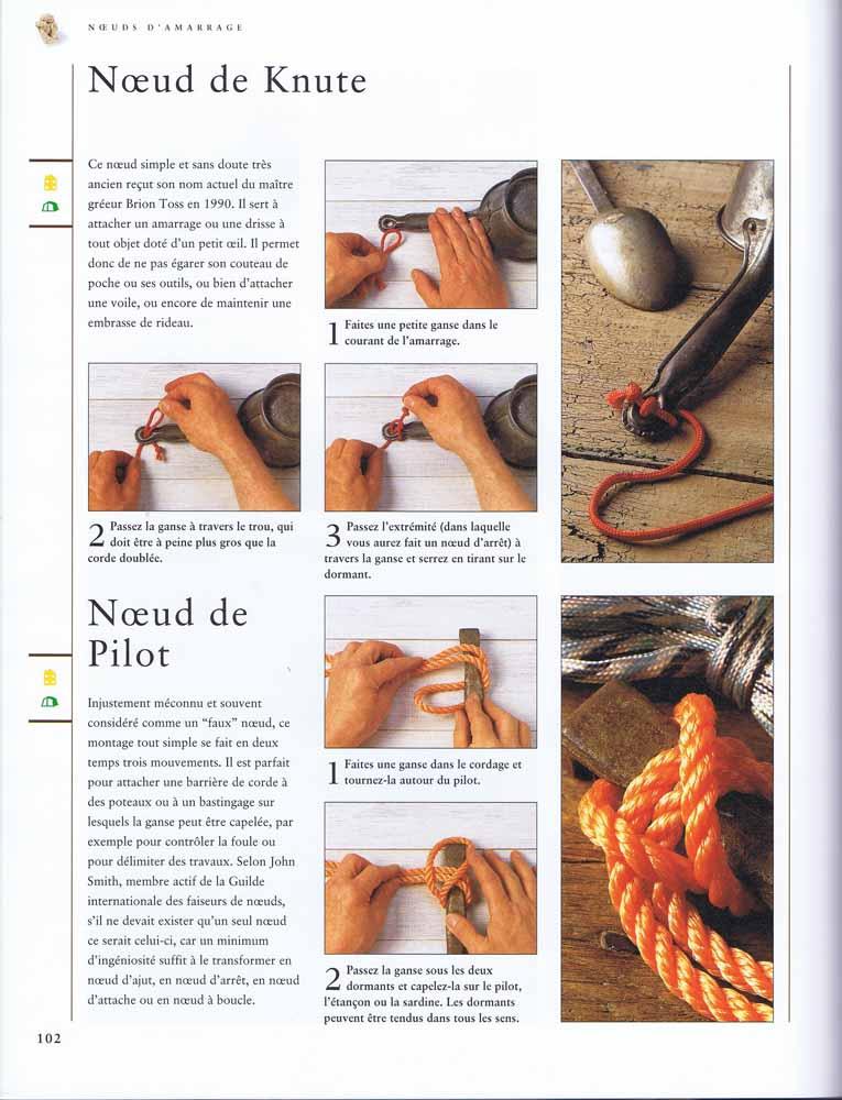 Encyclopédie illustrée des nœuds et cordages - Geoffrey Budworth Encycl12