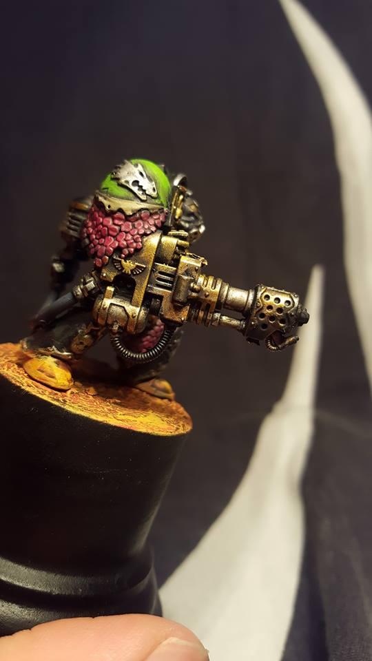 "- Crucibael WTF - ""Space Marine DeatWatch Salamanders ! "". 14695510"