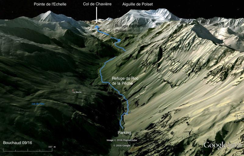 Pralognan-la-Vanoise – Col de Chavière. Colcha10